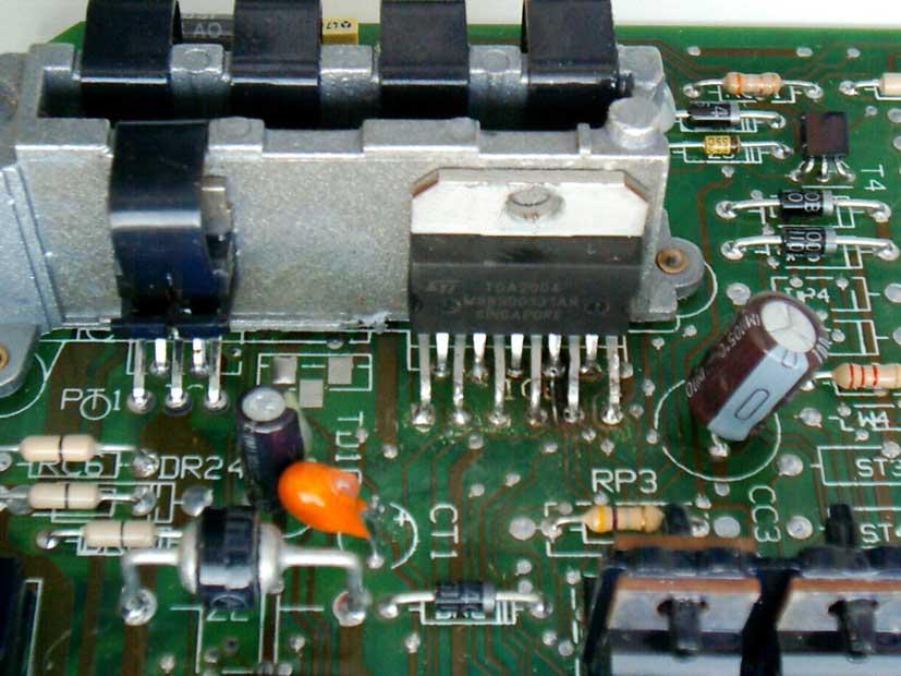 схема усилителя на TDA2004 печатная плата - Проверенные схемы.